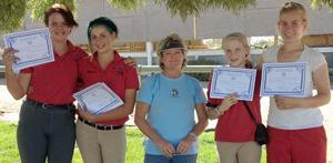 Liberty Oaks Pony Club members earn certificates