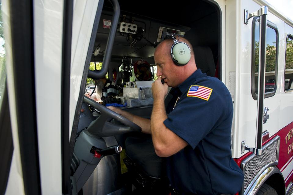 Lodi fire crew purchases new ladder truck