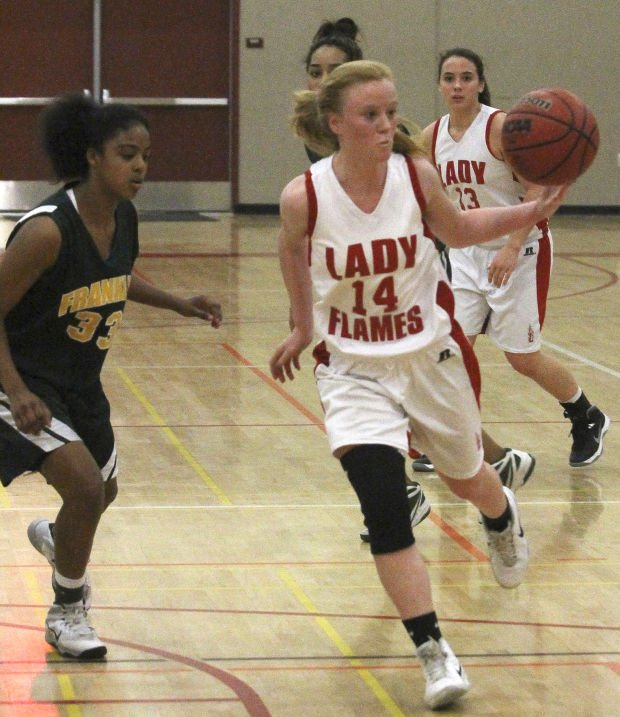 Girls basketball: Flames torch Yellowjackets