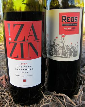 The 2009 REDS along with !ZaZin grown on old vines to produce rich, intense flavor