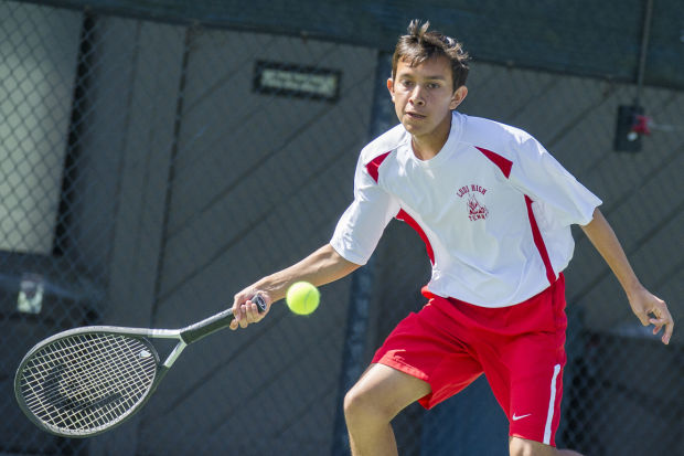 Boys tennis: Lodi's Jacob Neal flying solo