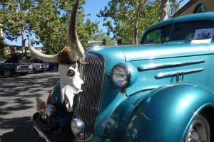 Classic autos on display at Stuck in Lodi Car Show
