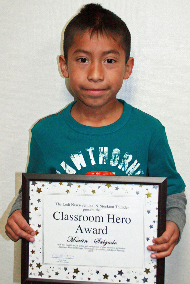 Heritage Primary Elementary School names Classroom Heroes