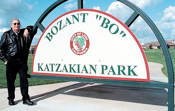 Bozant 'Bo' Katzakian, Lodi civic icon, dies at 94