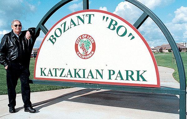Bozant 'Bo' Katzakian, Lodi civic icon, dies at 94