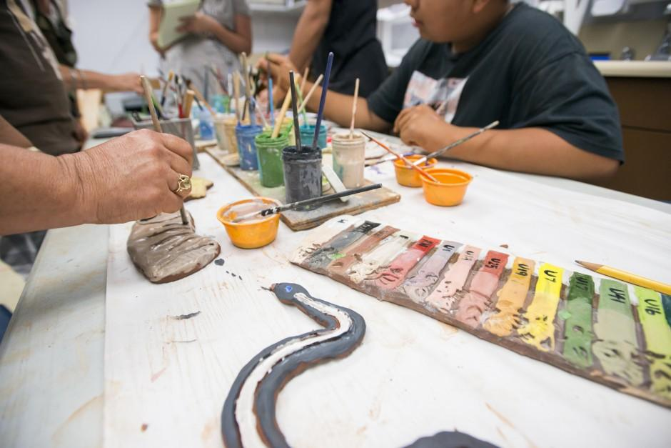 Heritage School students hope watershed mural will discourage local litterbugs