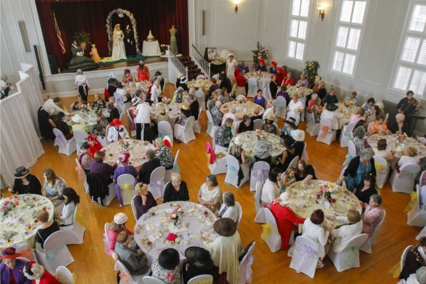 Lodi Woman's Club annual Victorian Tea