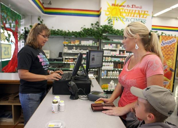 Business healthy at Sheri's Sonshine Nutrition Center