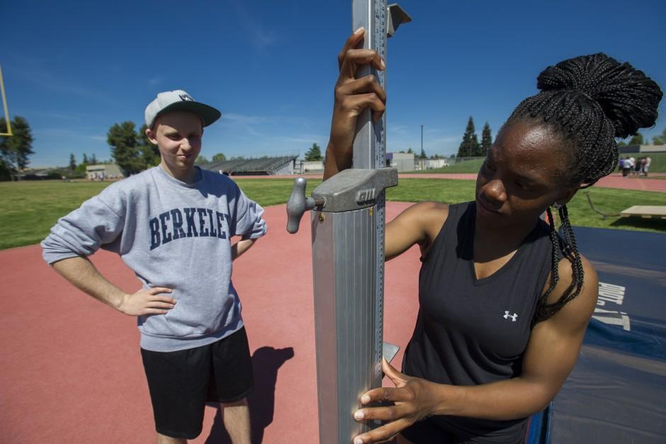 Tokay High School track star Jannell Hadnot puts some spring in my step