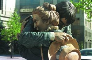 Lodi Arts brings  exhibit of 10 life-size  sculptures by Seward Johnson Jr. to  Downtown Lodi