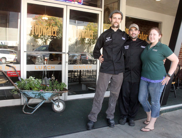 Topwater Cafe offers gluten-free options, quality, comfort