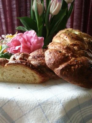Tsoureki — A Greek Easter bread