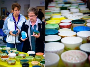 Empty Bowls fill local bellies with food