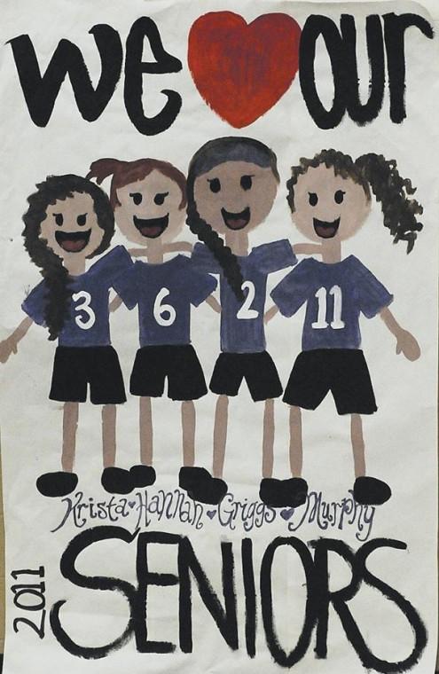 High School Volleyball Posters High School Volleyball Senior