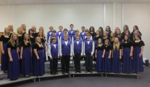 Logan-Hocking Middle School eighth grade choir