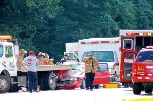 Two injured in U.S. 33 crash