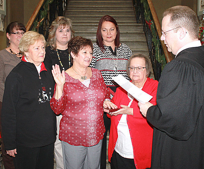 County Officials Sworn In At Hocking County Courthouse