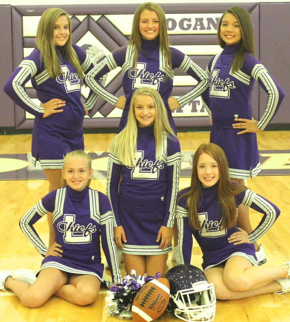 Seventh Grade Football Cheerleaders
