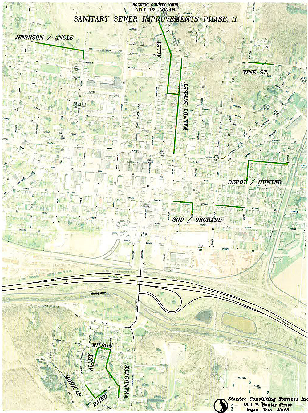 South County Sanitary Service : Final public hearing held on sanitary sewer improvements