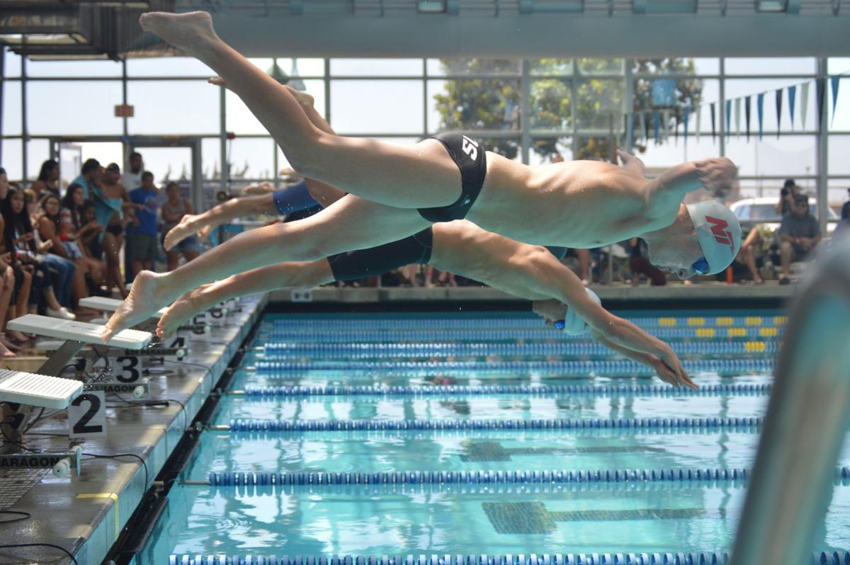 Lompoc Swimming Pool : Titans and conqs swim to league dominance swimming