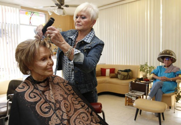 Beautician nearing retirement local news for A cut above salon las vegas