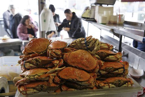 Dungeness crabs safe to eat in parts of California