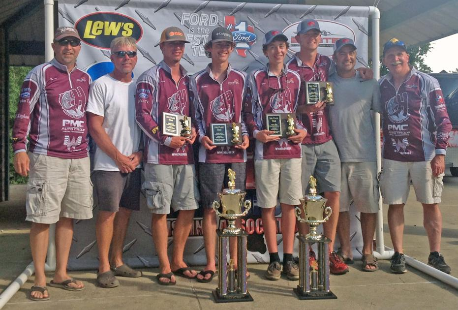 Hudson bass club reels in 18 500 during south east texas for Local bass fishing clubs