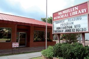 Summer reading at McMullen Memorial Library, Huntington
