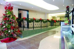 Lavish lobby