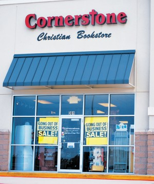 Cornerstone Christian Bookstore closes