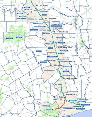 Keystone XL in Texas