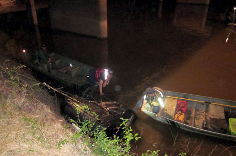 Year Old Drowns In Car Wreck