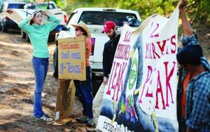 Pipepline Protestors
