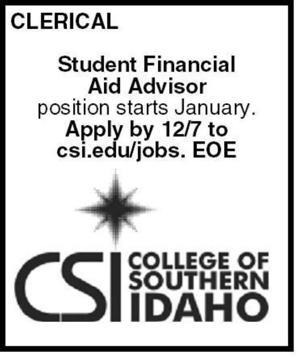 Student Financial Aid Advisor