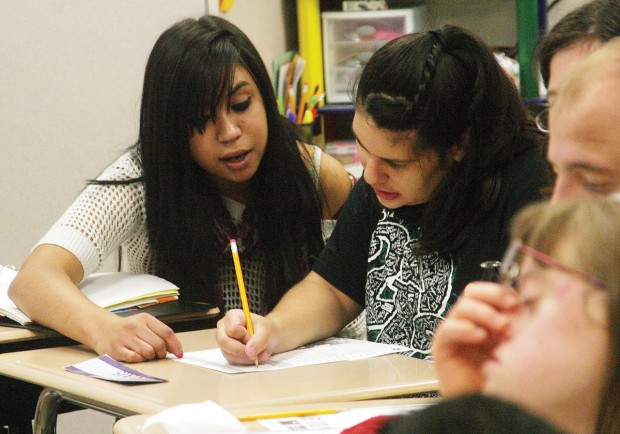 Burley Peer Tutors Learn About Life Themselves While