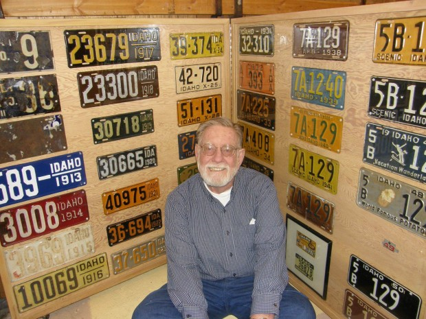 License Plate Collection Is A Trip Through Idaho S History