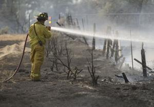Gallery: Fire Near the Canyon