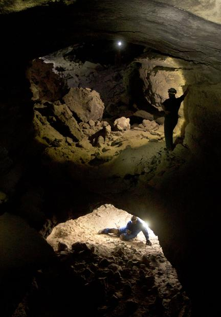 PHOTO BLOG: Spelunking with the Silver Sage Grotto