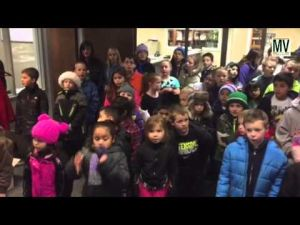 Video: Caroling at the Times-News