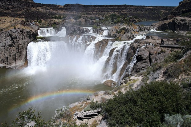 gallery shoshone falls in all seasons. Black Bedroom Furniture Sets. Home Design Ideas