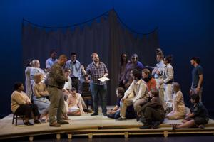 Gallery: 'The Caucasian Chalk Circle' Rehearsals