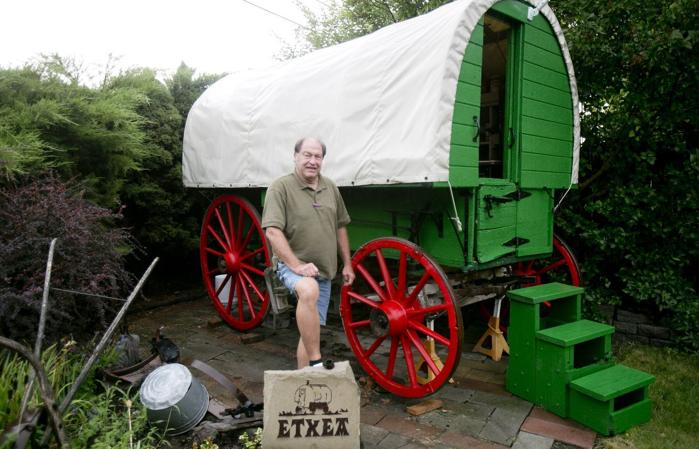 Home on the range with sheep wagons for Lambs canyon cabins for sale