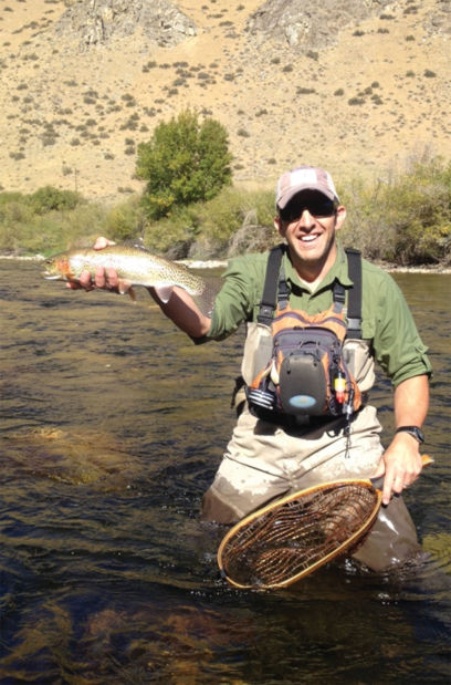 Learn about cooperative work on south fork boise river for Boise river fishing