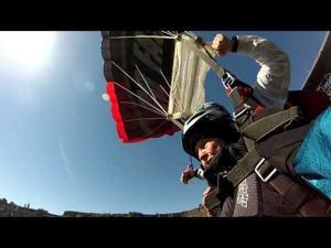 Video: Dorothy Custer Does a BASE Jump