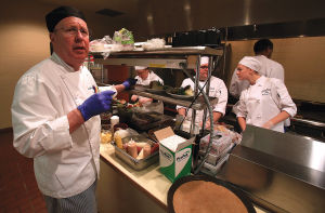 Locals Dig into Students' Curriculum at CSI's Desert Cafe