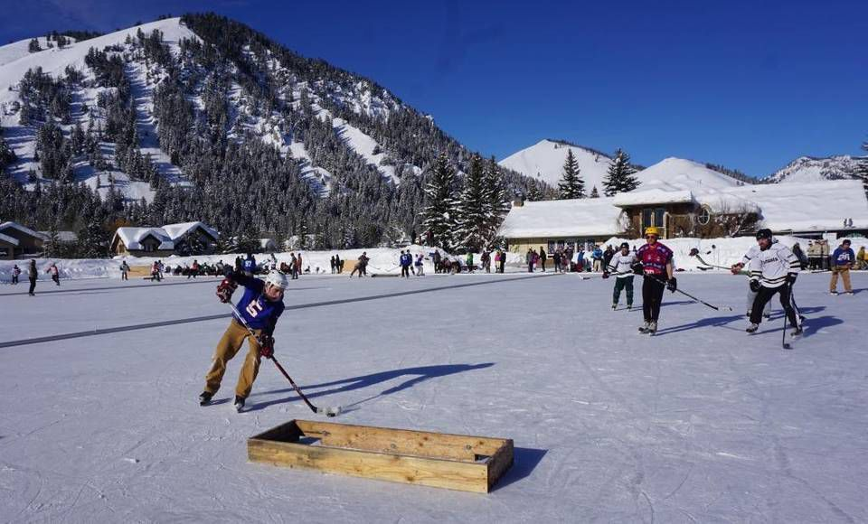 Pond Hockey Tournament 'one Of The Best Days Of The Year' In Ketchum, ID