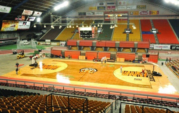 Idaho State Basketball Gets New Court Idaho State