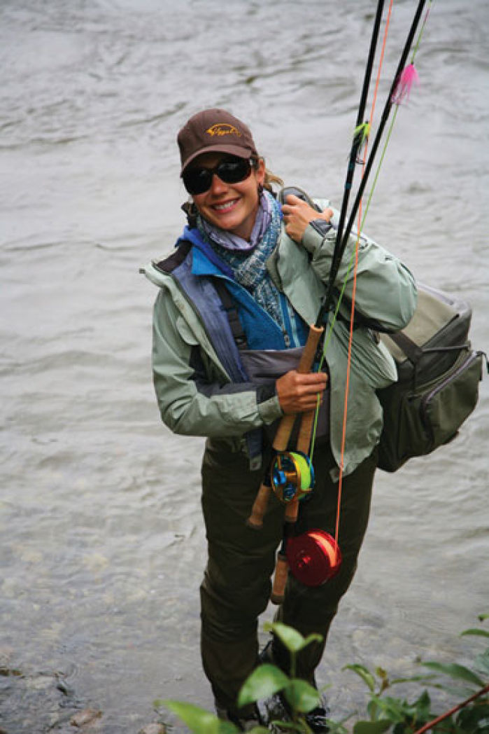 Fly fishers banquet features canadian fishing guide for Chicago fly fishing