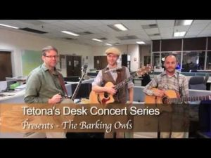 Video: The Barking Owls for Tetona's Desk Concerts