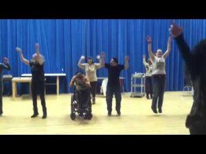 Video: Rachel's Dancin' Peeps Rehearse for Big Night